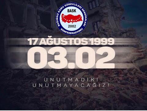 BASK -agustos-marmara-depremini-unutmadik